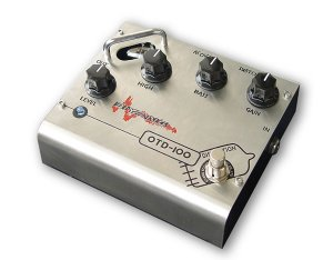 Free Shipping Biyang OTD-100Pro�Tube Distortion Guitar Effect Pedal(Professional)