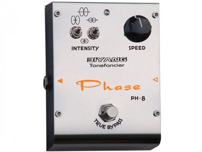 Free Shipping Biyang PH-8�Phase Guitar Effect Pedal