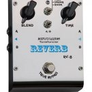 Free Shipping Biyang Reverb RV-8 new guitar or bass reverb fx effect pedal