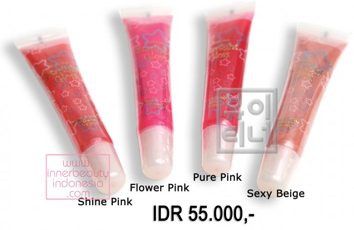 Starligh Lip Gloss - Shine Pink, Flower Pink, Pure Pink & Sexy Beige 10ml