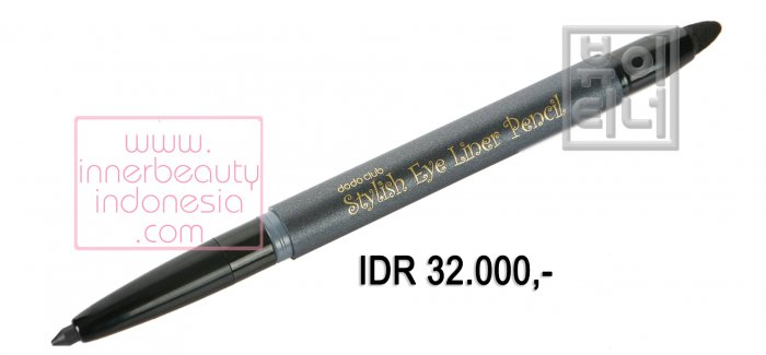 Stylish Eye Liner Pencil - Black & Black Brown