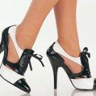 Saddle shoe pump