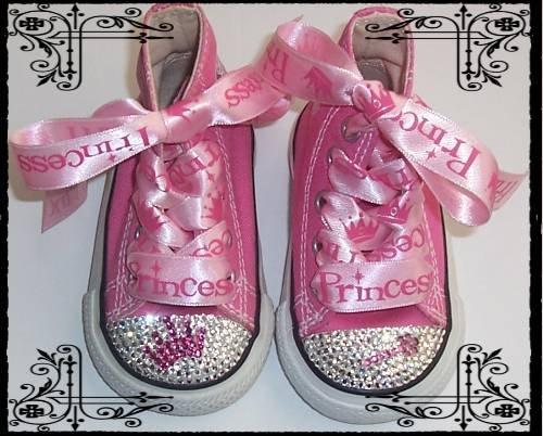 princess bling bling baby shoes