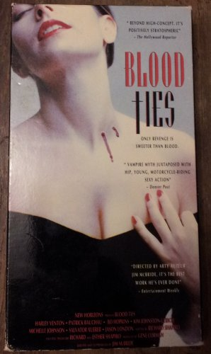BLOOD TIES VHS HORROR