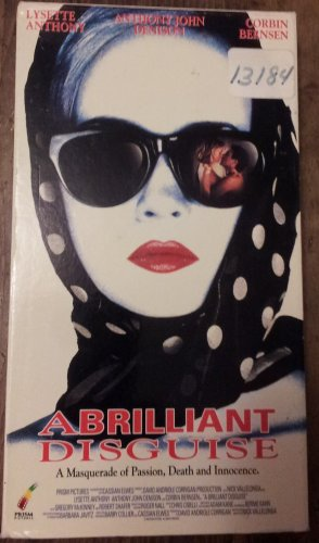 A BRILLIANT DISGUISE VHS