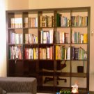 Ikea Expedit Bookshelves - Black/Brown