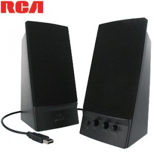 RCA USB MULTIMEDIA SPEAKER SYSTEM