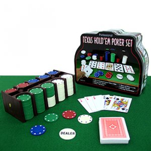 PREMIER TEXAS HOLD'EM POKER SET