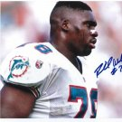 RICHMOND WEBB signed autographed DOLPHINS 8x10 photo IP 5.19.13