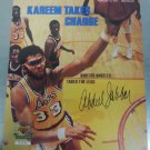 1991 UD LE Sports Illustrated KAREEM ABDUL JABBAR 8.5x11 Print Lakers