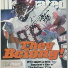 ANDRE DAVIS signed Sports Illustrated Magazine 12/06/99