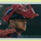 2010 Topps Chrome CARLOS SANTANA #198 RC