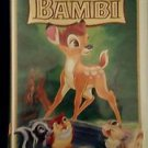 WALT DISNEY Bambi 55th Anniversary VHS Masterpiece Collection #9505