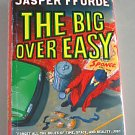 The Big Over Easy by Jasper Fforde Signed First UK Edition Nursery Crime 2005  Hardcover