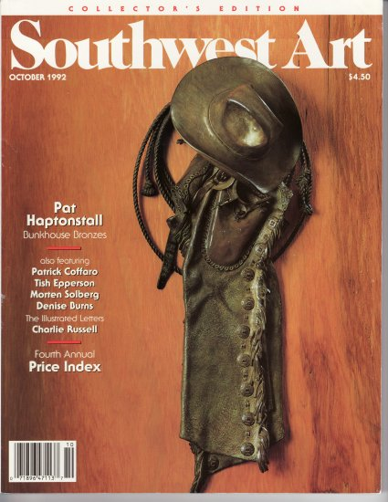 SOUTHWEST ART Collector's Edition October 1992  Price Index Western Art Magazine Back Issue