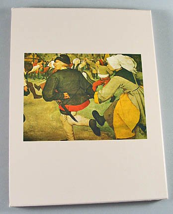 The World of Bruegel 1525-1569  Time LIfe Art Book by Timothy Foote 1975 Hardcover Slip Case