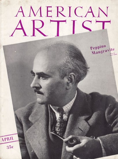 AMERICAN ARTIST Magazine April 1941 Watson-Guptil Publication Magazine Back Issue