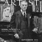 AMERICAN ARTIST Magazine September 1943 Watson-Guptil Publication Magazine Back Issue