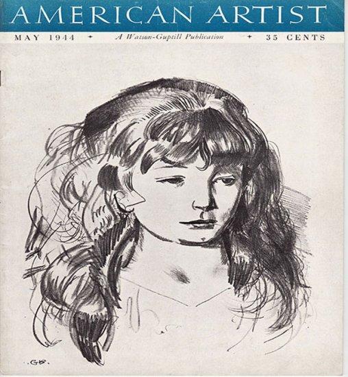 American Artist Magazine May 1944 Watson Guptil