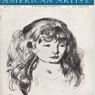 AMERICAN ARTIST Magazine May 1944 Watson-Guptil Publication Magazine Back Issue