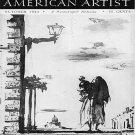 AMERICAN ARTIST Magazine October 1944 Watson-Guptil Publication Magazine Back Issue