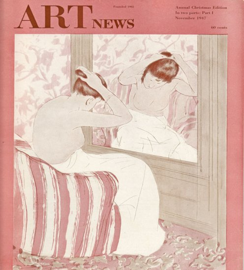 ARTnews Magazine November 1947 Art Illustrations Articles Magazine Back Issue