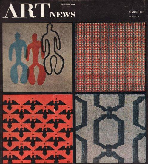ARTnews Magazine March 1947 Art Illustrations Articles Magazine Back Issue