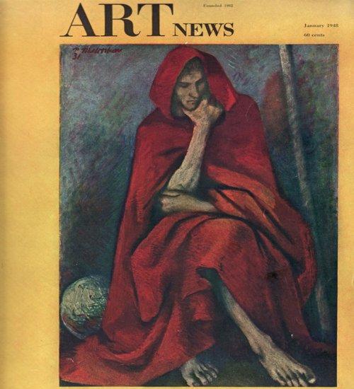 ARTnews Magazine January 1948 Art Illustrations Articles Magazine Back Issue