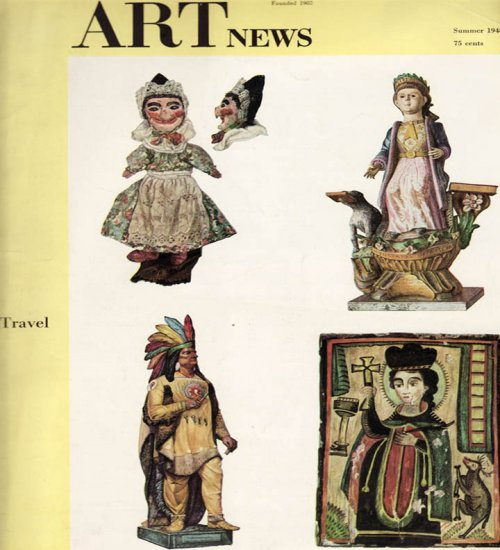 ARTnews Magazine Summer 1948 Art Illustrations Articles Magazine Back Issue