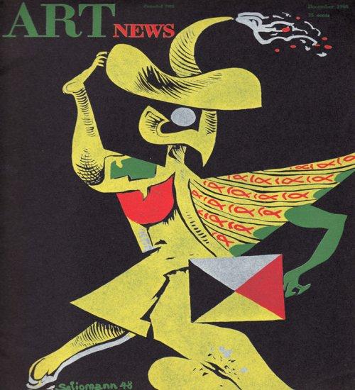 ARTnews Magazine December 1948 Art Illustrations Kurt Seligmann Magazine Back Issue
