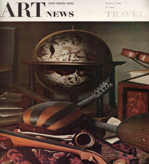 ARTnews Magazine Summer 1949 Art Illustrations Articles Magazine Back Issue