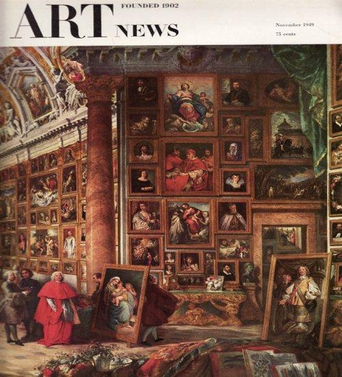 ARTnews Magazine November 1949 Art Illustrations Articles Magazine Back Issue