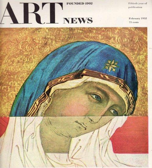 ARTnews Magazine February 1952 Fiftieth Year of Publication Art Magazine Back Issue