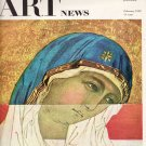 ARTnews Magazine February 1952 Fiftieth Year of Publication Art Magazine Back Issue