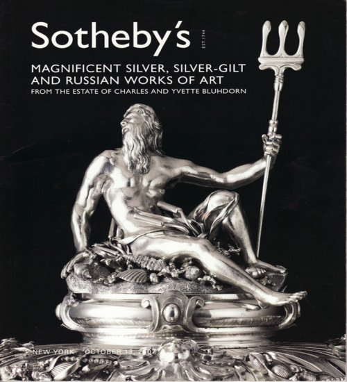 Sotheby's Magnificent Silver Silver-Gilt and Russian Works of Art Auction Catalog October 2007