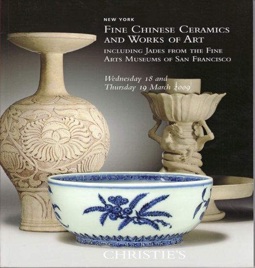 Christie's Fine Chinese Ceramics WOA Jade Collection 2009 Auction Catalog Decorative Arts