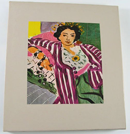 The World of Matisse 1869 1954 Time LIfe Art Book by John Russell 1974 Hardcover with Slipcase