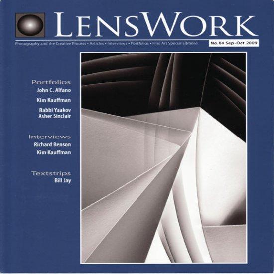 LensWork No. 84 September - October 2009 Photography Articles Original Paper Magazine Back Issue