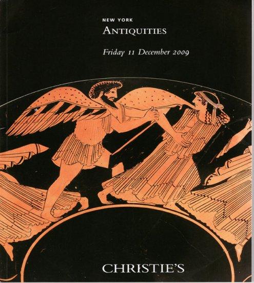 Christie's Antiquities  December 2009 New York  Greek Roman Egyptian Art  Auction Catalog