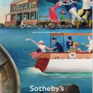 Sotheby's American Paintings, Drawings and Sculpture New York September 30, 2009 Auction Catalog