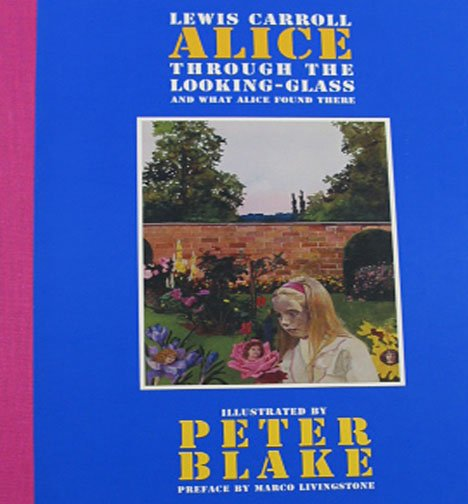 Alice Through the Looking-Glass and What Alice Found There 2006 Watercolors  by Peter Blake