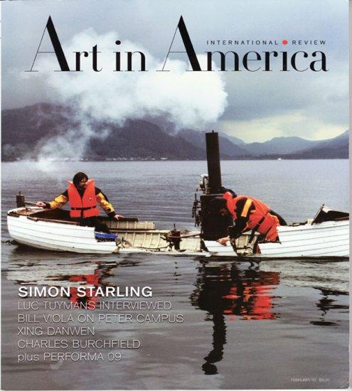 ART IN AMERICA February 2010 Simon Starling International Review Magazine Back Issue