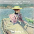 Sotheby's American Paintings Drawings and Sculpture New York December 3, 2009 Auction Catalog