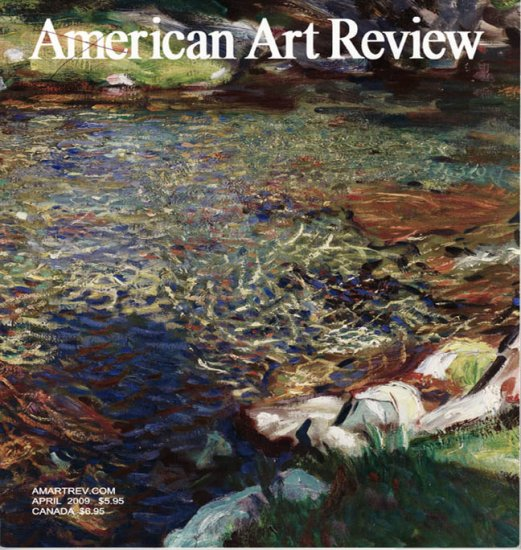 AMERICAN ART REVIEW April 2009 Decorative Arts Drawings Paintings Art Magazine Back Issue