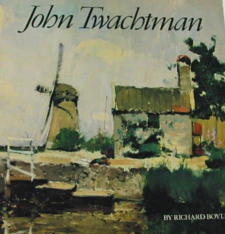 John Twachtman by Richard Boyle American Painter Illustrations 1982 Softcover Art Book