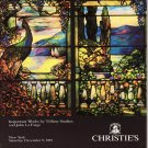 Christie's Important Works by Tiffany Studios and John La Farge Auction Catalog  December 1989