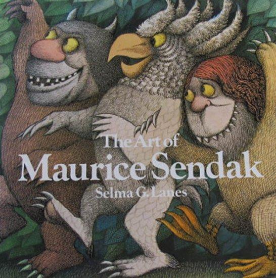The Art of Maurice Sendak by Selma G. Lanes Illustrations Hardcover Art Book 2009
