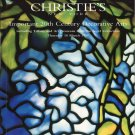 Christie's Important 20th Century Decorative Arts Tiffany Art Nouveau Segel Collection Catalog 1999