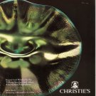Christie's Important Works by Tiffany Studios and other American Glassmakers Auction Catalog 1990