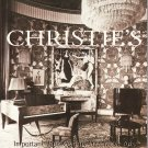 Christie's Important 20th Century Decorative Arts Furniture Arts & Crafts Auction Catalog 1999
